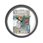 The Old Woman and Gerda Wall Clock