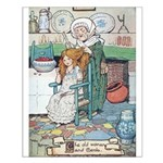 The Old Woman and Gerda Small Poster