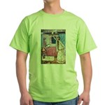 The Vikings Wife and the Frog Green T-Shirt