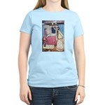 The Vikings Wife and the Frog Women's Light T-Shir