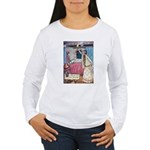 The Vikings Wife and the Frog Women's Long Sleeve
