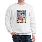 The Vikings Wife and the Frog Sweatshirt