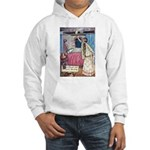 The Vikings Wife and the Frog Hooded Sweatshirt