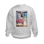 The Vikings Wife and the Frog Kids Sweatshirt