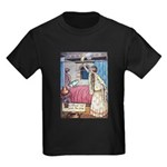 The Vikings Wife and the Frog Kids Dark T-Shirt