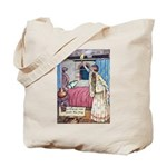 The Vikings Wife and the Frog Tote Bag