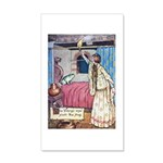 The Vikings Wife and the Frog 20x12 Wall Decal