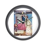 The Vikings Wife and the Frog Wall Clock