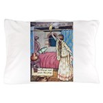 The Vikings Wife and the Frog Pillow Case