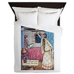 The Vikings Wife and the Frog Queen Duvet
