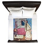 The Vikings Wife and the Frog King Duvet