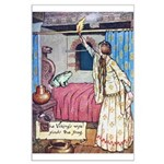 The Vikings Wife and the Frog Large Poster