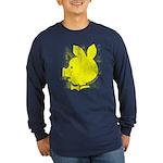 pyatachok yellow Long Sleeve Dark T-Shirt