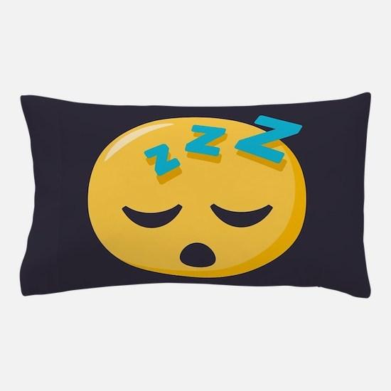 Sleeping Emoji Pillow Case
