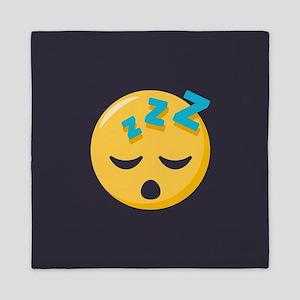 Sleeping Emoji Queen Duvet