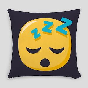 Sleeping Emoji Everyday Pillow