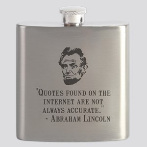 Lincoln Internet Black Flask
