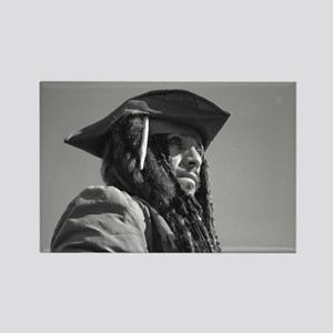 Captain Jack Sparrow Rectangle Magnet