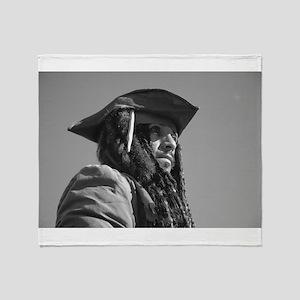 Captain Jack Sparrow Throw Blanket