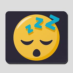 Sleeping Emoji Mousepad