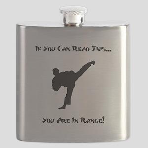 In Range Black Flask