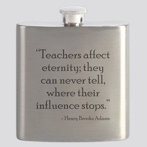 Teaching Eternity Black Flask