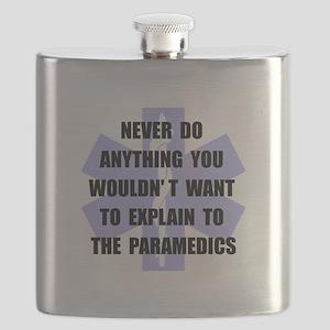 Paramedics Black Flask