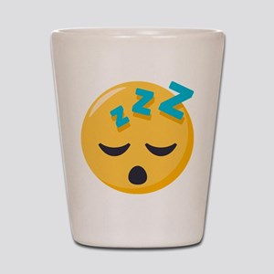 Sleeping Emoji Shot Glass