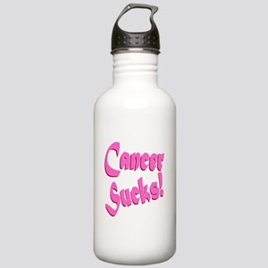 Cancer Sucks Funny Pin Stainless Water Bottle 1.0L