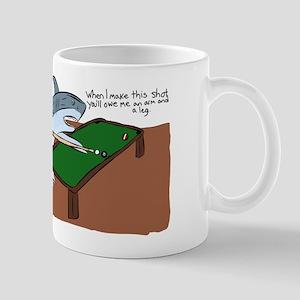 You owe me an arm and a leg. Mugs