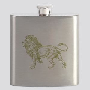 Lion Gold Flask