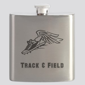 Track Field Black Only Flask