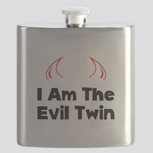 Evil Twin Black Flask