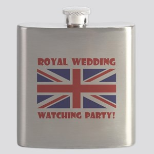 Royal Watching Party Red Flask