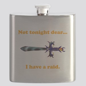 Tonight Raid orange Flask