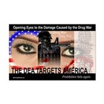 The DEA Targets America Poster (11x17)