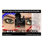 The DEA Targets America Postcards (set of 8)