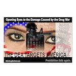 The DEA Targets America Postcards (set of 8)