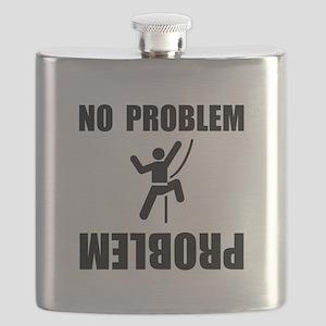 Climbing Problem Black Flask