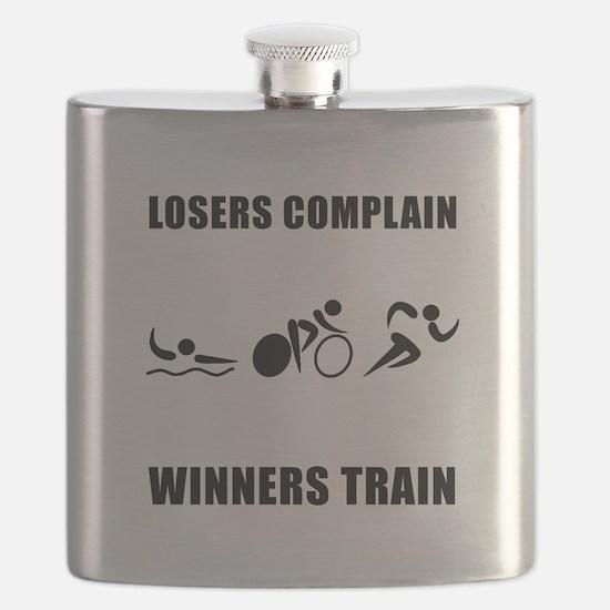 Triathlon Winners Train Black.png Flask