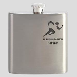 Ultramarathon Runner Pocket 2 Black Flask