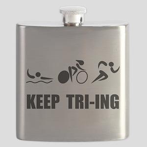 Keep TRI ING Black Flask