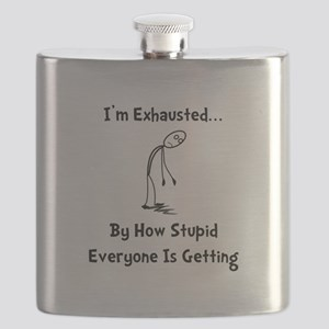 Exhausted Black Flask