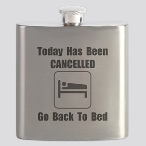 Today Cancelled Black Flask