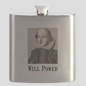 Will Power Black Flask