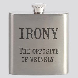 Irony Black Flask