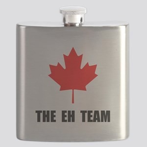 The EH Team Black Flask