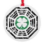 Dharma Lucky Round Ornament