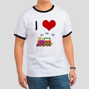I Love Trains Ringer T