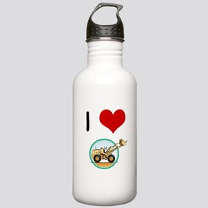 I Love Diggers Stainless Water Bottle 1.0L